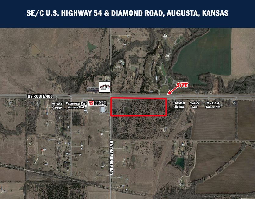 Highway 54 SW Diamond Road SEc Augusta KS 67010