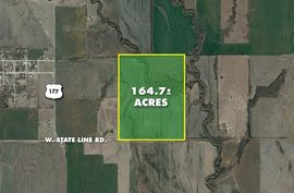 164.7 +/- Acres W. State Line Rd. South Haven, KS 67140,